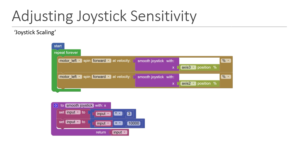 joystickSensitivity